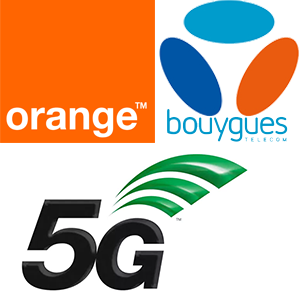 5G Orange Bouygues Telecom
