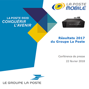 Résultats La Poste Mobile : 1,38 million de lignes à fin 2017