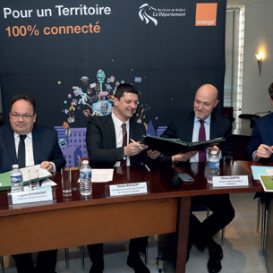 La Fibre Orange arrive massivement sur le Territoire de Belfort