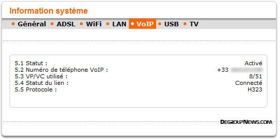 Information système : VoIP
