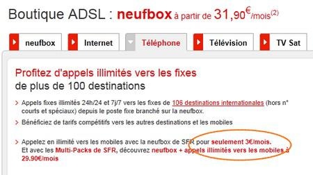 Option mobile illimité SFR